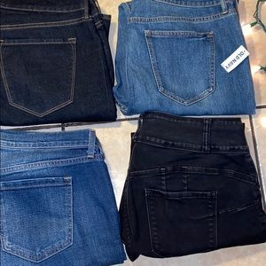 BUNDLE OF 4 OLD NAVY JEANS